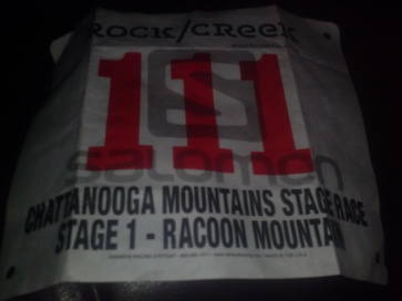 Super Awesome Race Bib