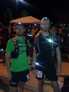 Jeff and Steven at the start