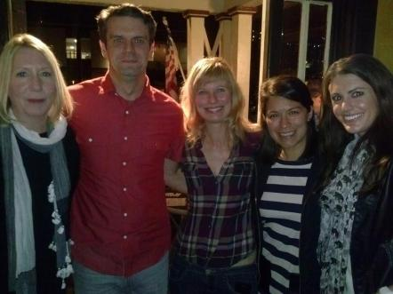 Part of the RunWILD group at film fest