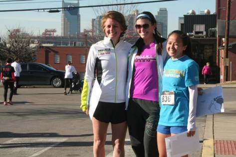 Fellow NRC race team member Kris (who placed 3rd!), me, and 2nd place chick